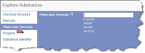 Molecular Formula Searching