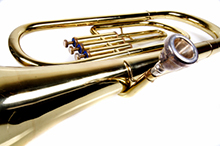 trombone Royalty Free Stock Photo