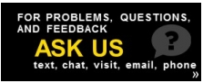 Ask us button & link