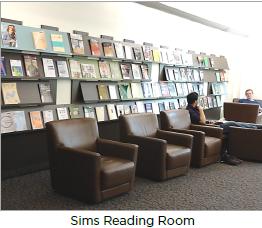 Porter's Sims Reading Room, 3rd floor