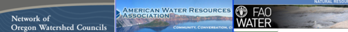 logos of water organizations