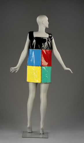 Mannequin in a dress