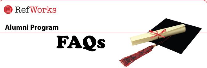 Refworks Alumni Program FAQs
