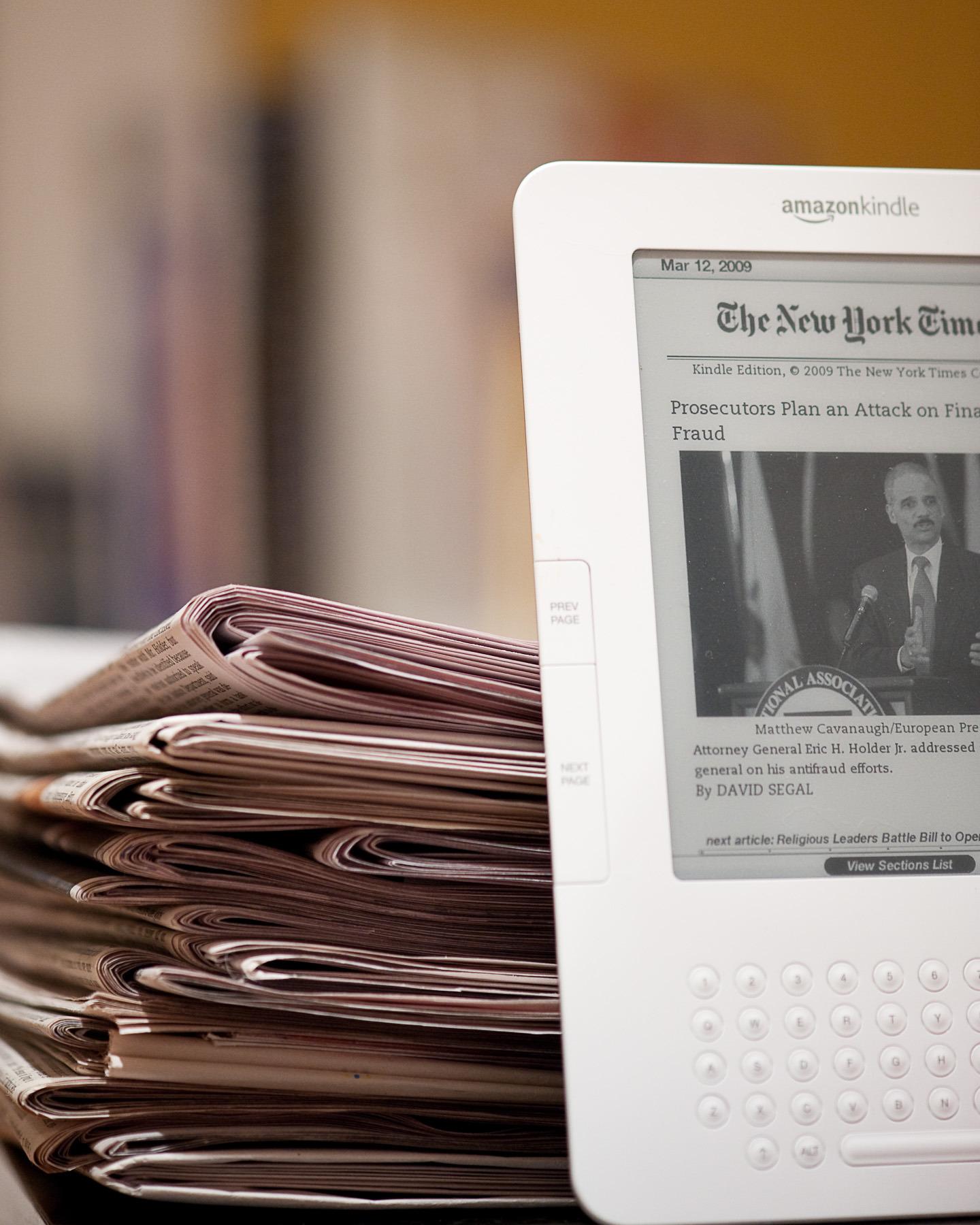 The Kindle New York Times