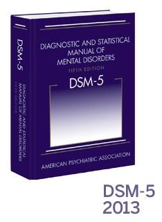 Image of DSM-5 in purple