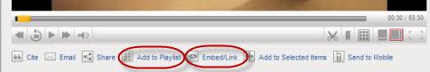 Embed/link