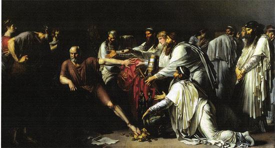 Painting y Anne Louis Girodet de Roussy-Trioson