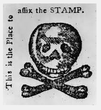 Stamp Act graphic