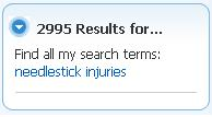 saying the results set is 2,995 items