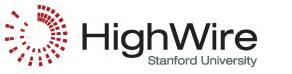 HighWire, Stanford University