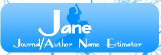 JANE journal author name estimator