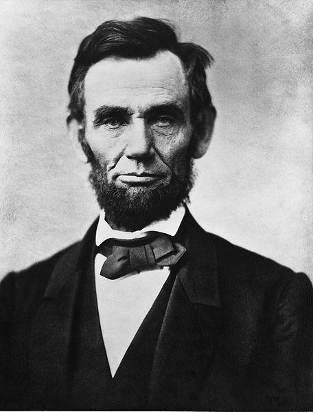 Alexander Gardner's photograph of Abraham Lincoln