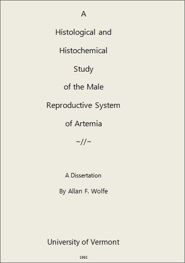 Picture of Al Wolfe Dissertation
