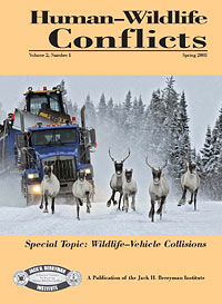 Human-Wildlife Conflicts journal cover image