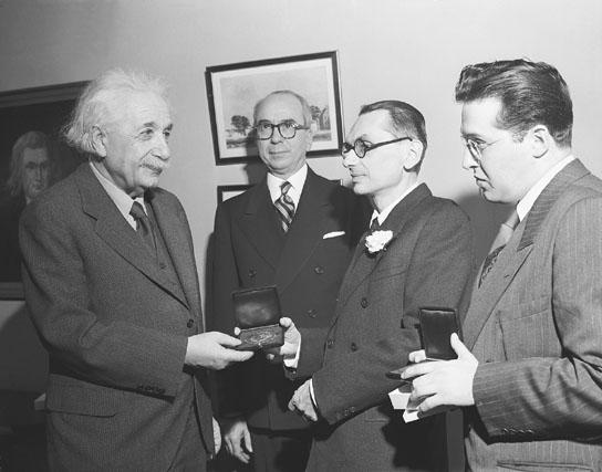 image of Kurl Godel with Albert Einstein