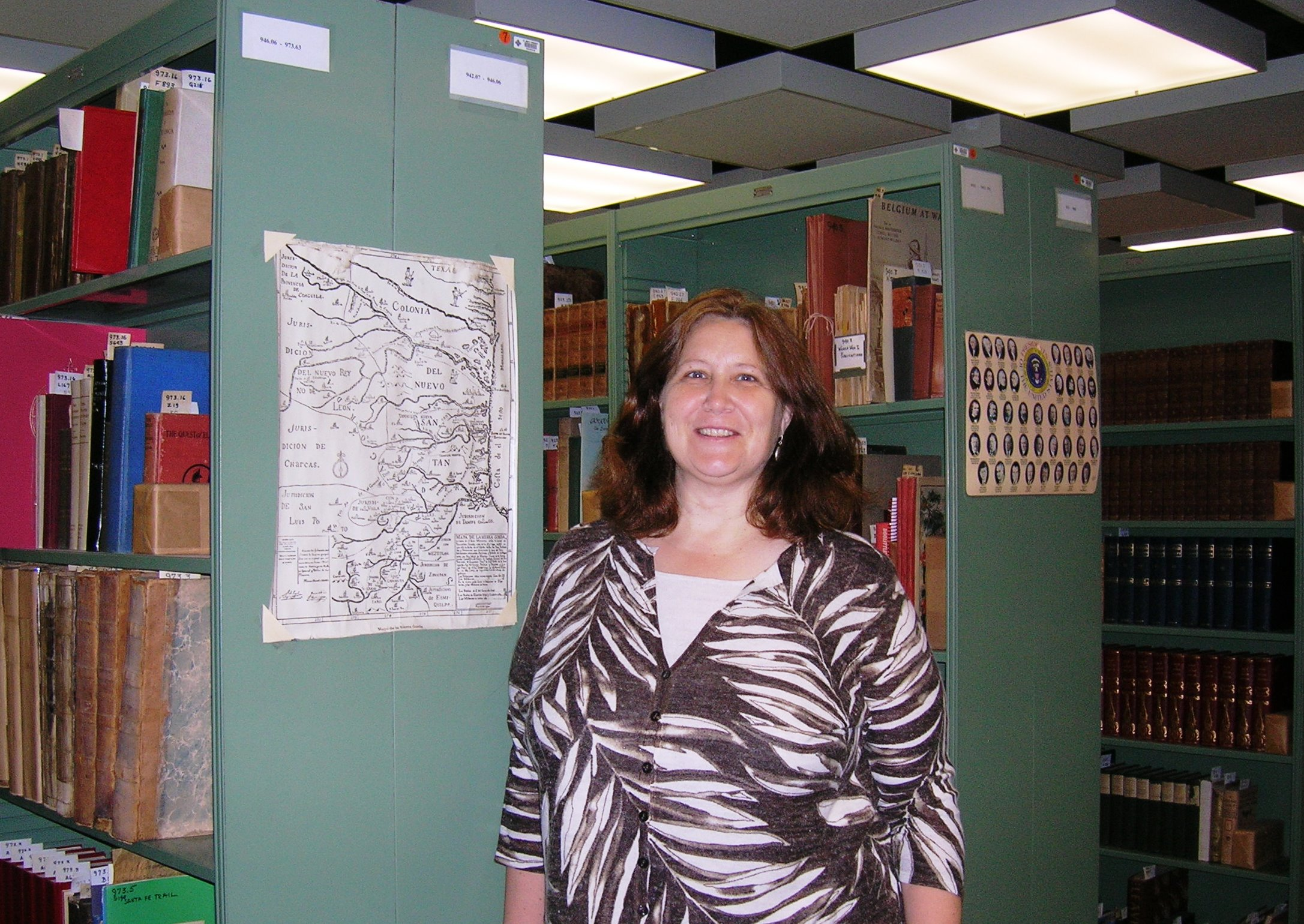 Jill in Special Collections