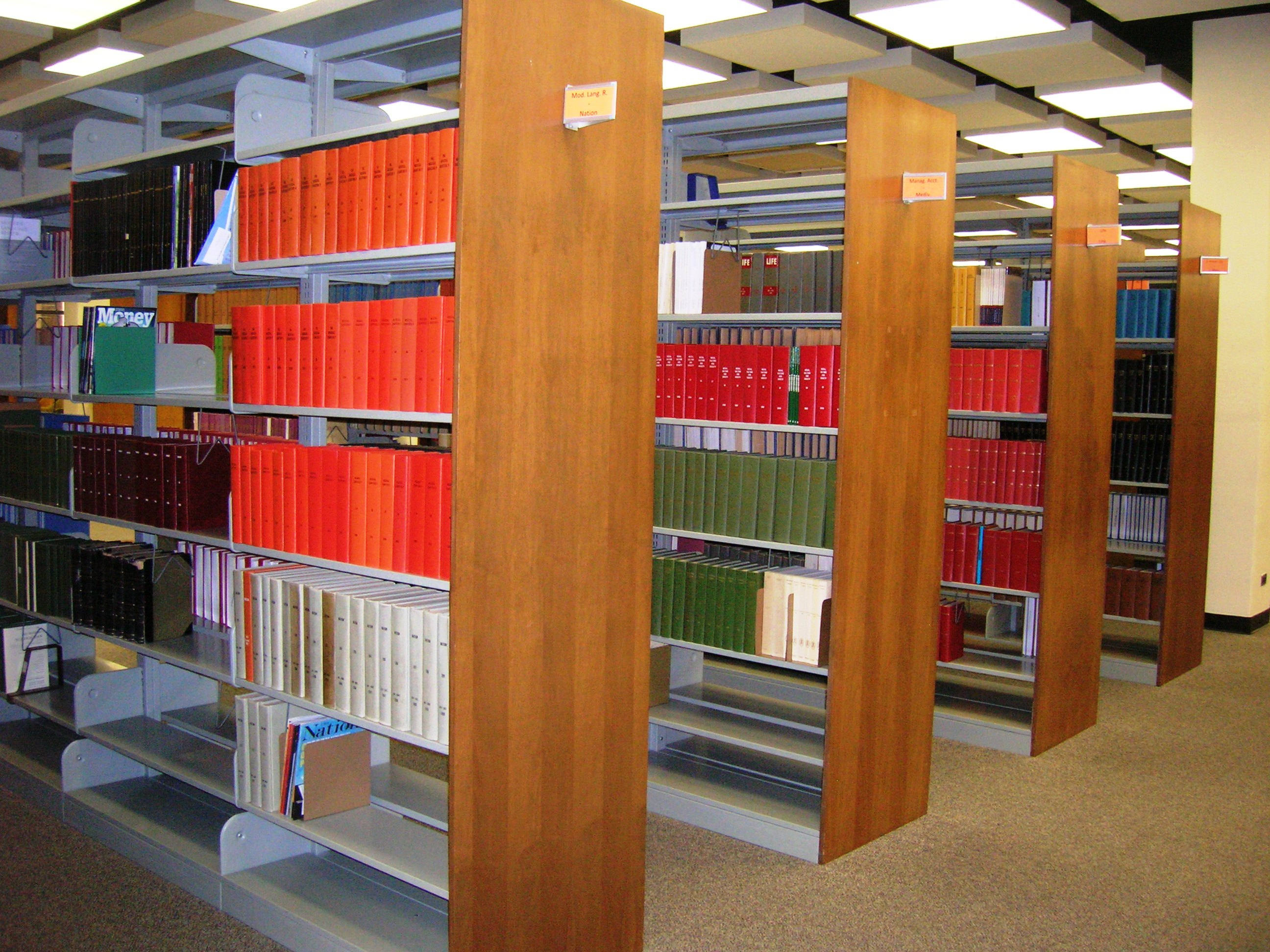 Print periodical collection