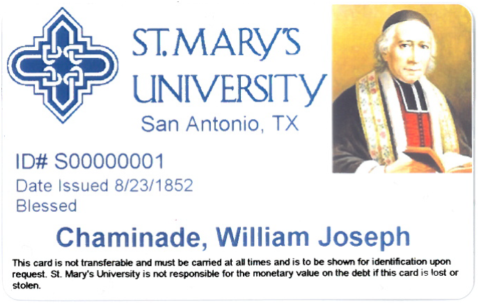 Rattler ID for William Joseph Chaminade