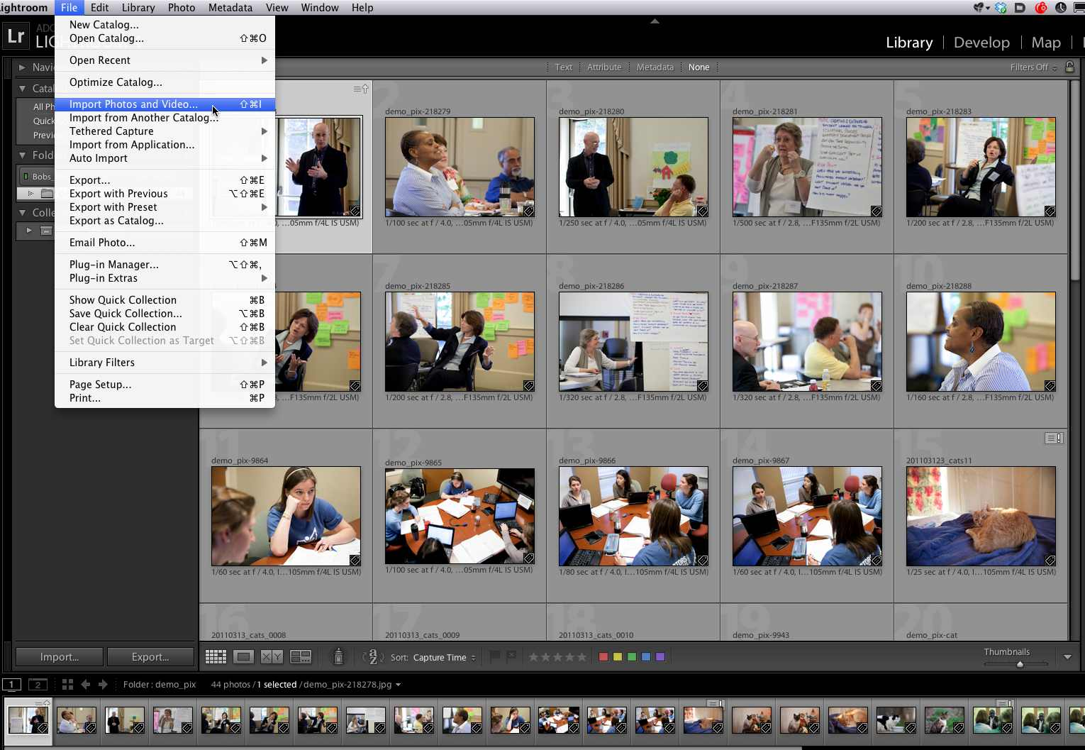 Importing Images 1