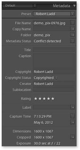 Working with Metadata