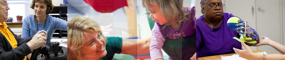 Occupation Matters: 30 Years of Occupational Therapy Education at UNC Exhibit blog header