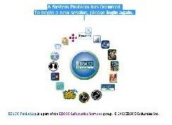 EBSCO error