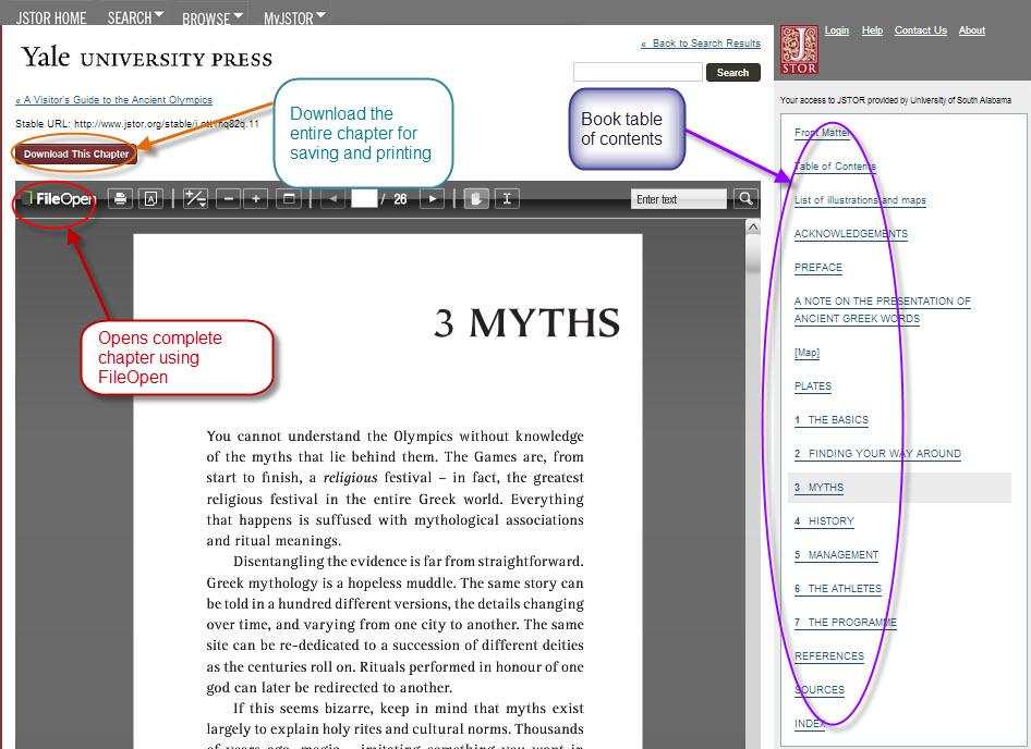 JSTOR Download Page