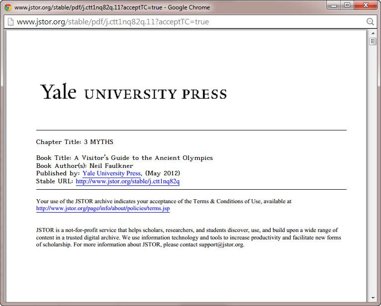 JSTOR PDF Display