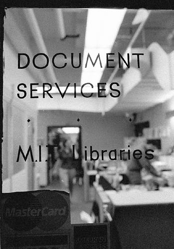 Document Services door