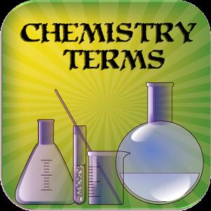Chemistry terms logo