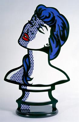 Image of Woman: Sunlight, Moonlight by Roy Lichtenstein, 1996.