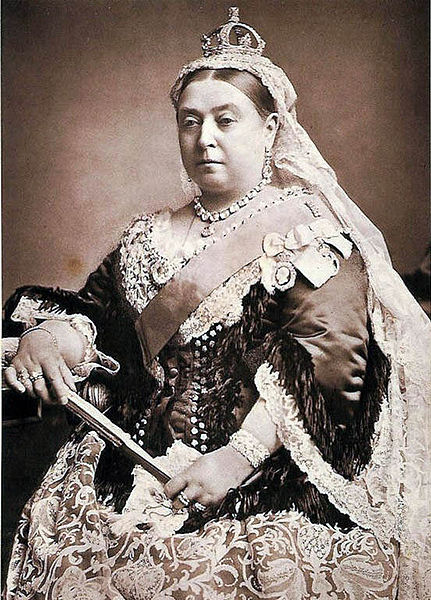 Photo of Queen Victoria during the Diamond Jubillee