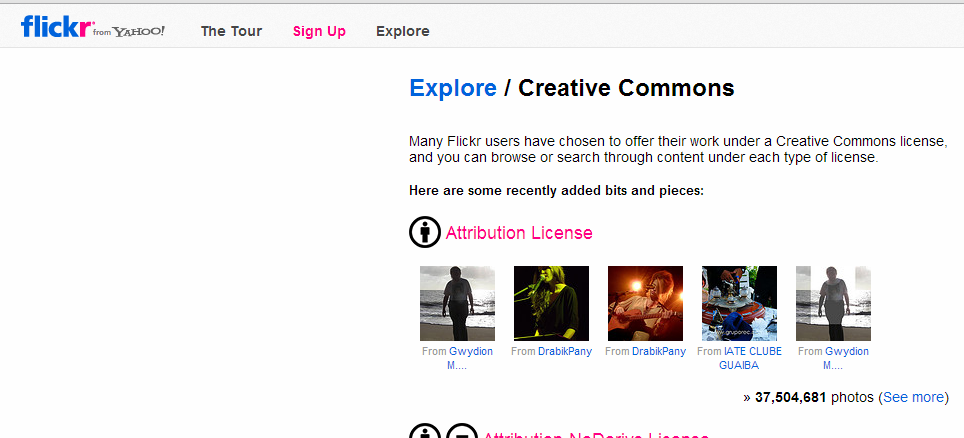 Flickr Creative Commons