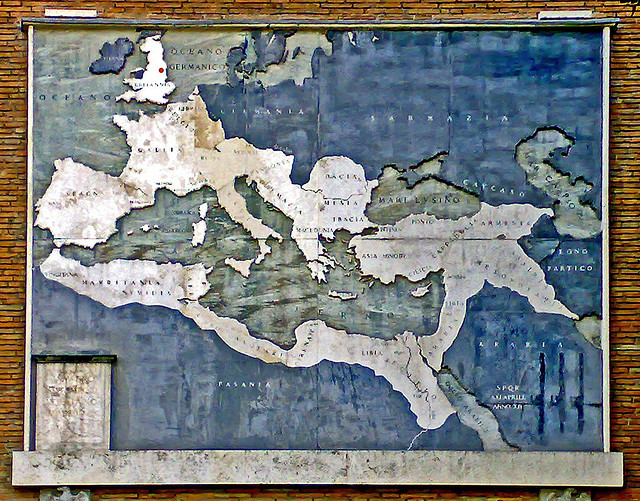 Map of the Roman Empire. (Xerones, Flickr)