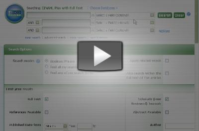 Understand Databases video demonstration