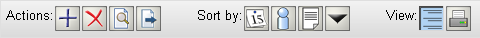 MyNCBI My Bibliography Action Bar