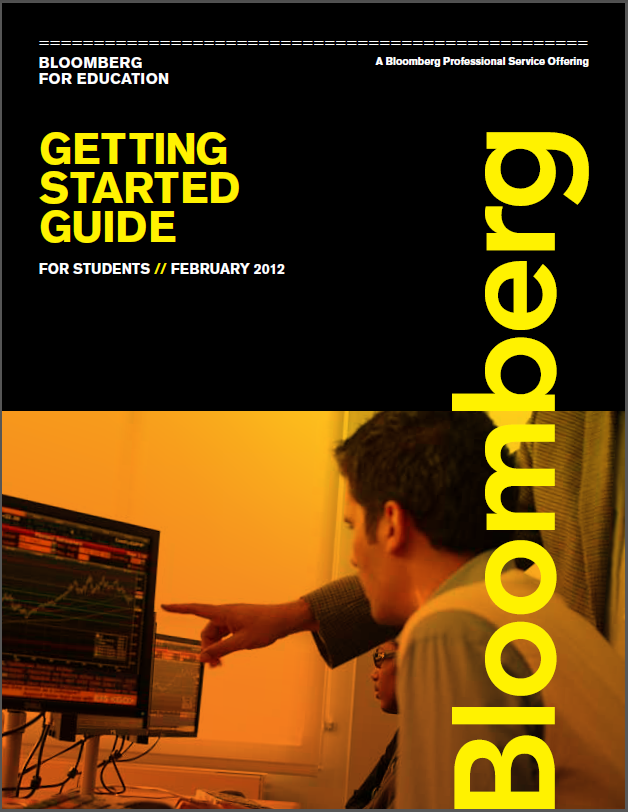 Bloomberg Getting Started Guide