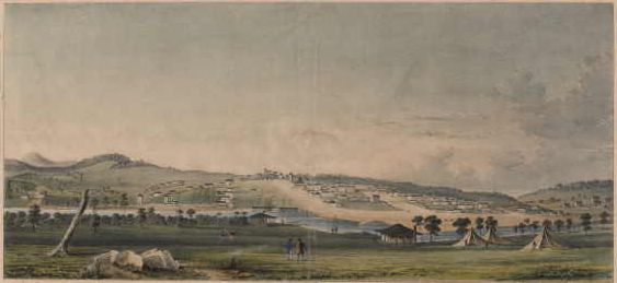 MELBOURNE (Port Phillip) by John Adamson; Accession number H6262/2
