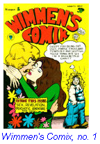 """Image of """"Wimmen's Comik"""" book cover"""