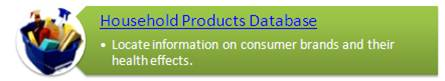 Household Products Database