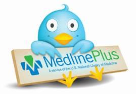Medline Plus and Twitter