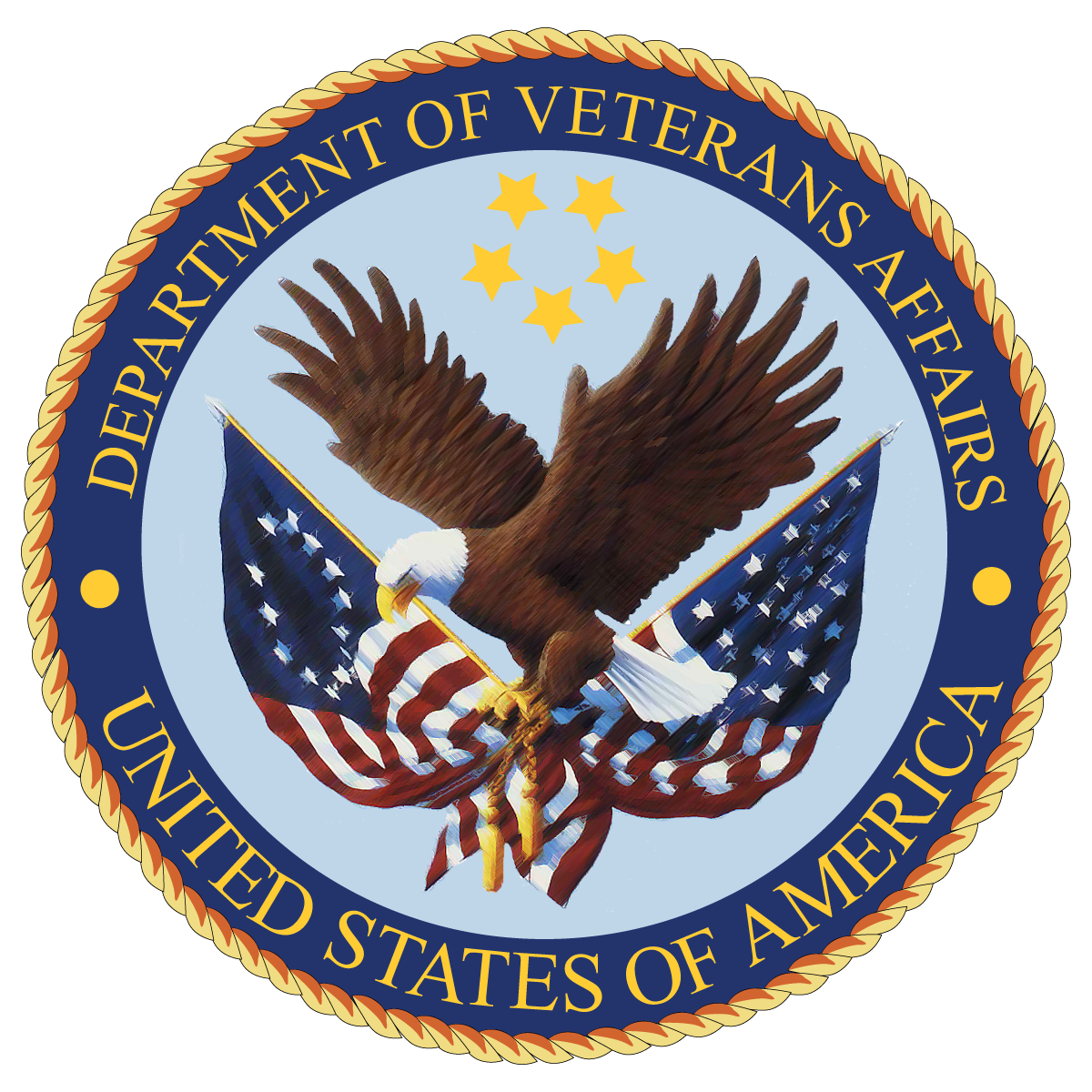 Department of Veterans Affairs circle emblem