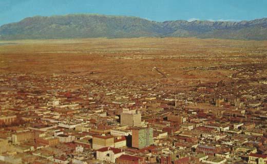 Air View of Albuquerque, New Mexico