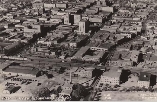 Air View-Albuquerque, New Mexico