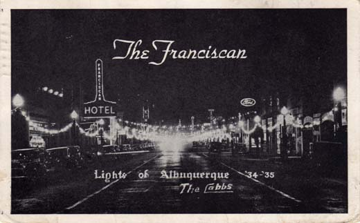 The Franciscan, Lights of Albuquerque '34 - '35, The Cabbs