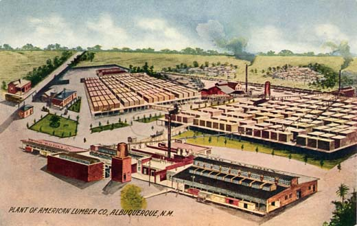 Plant of The American Lumber Co., Albuquerque, New Mexico