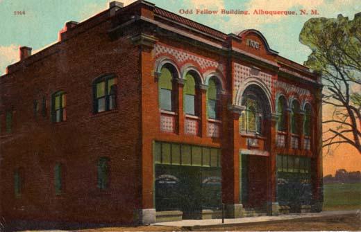 Odd Fellow Building, Albuquerque, N. M.