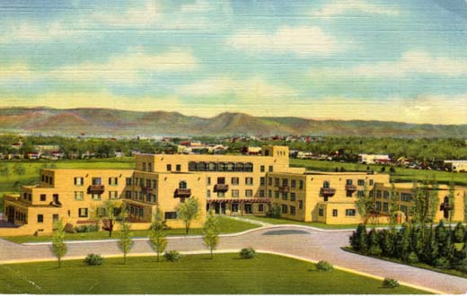 Men's Dormitory University of New Mexico