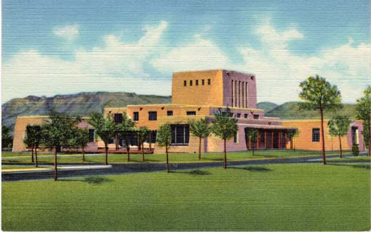 Library, University of New Mexico, Albq., N.M.