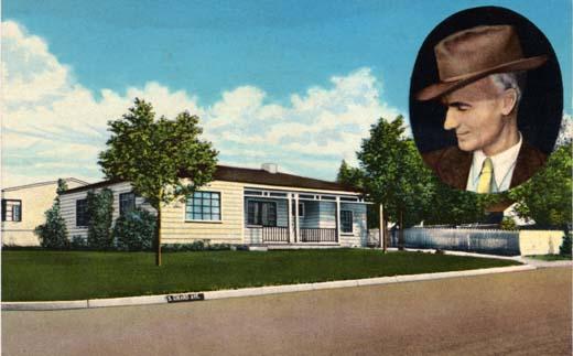 Ernie Pyle's Home Albuquerque, N. Mex